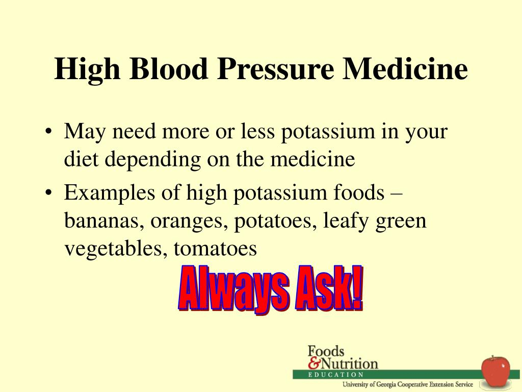 High Blood Pressure Medicine