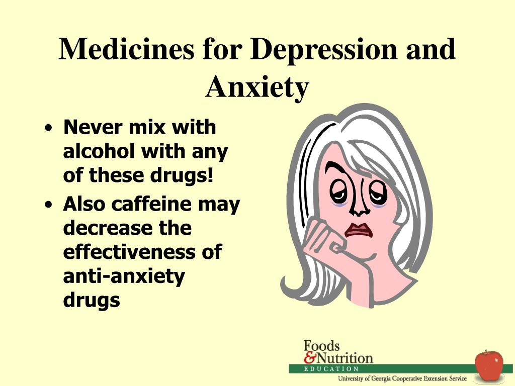 Medicines for Depression and Anxiety