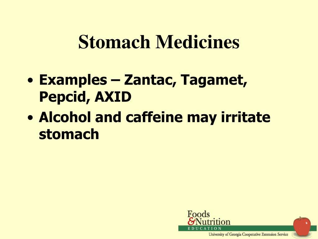 Stomach Medicines