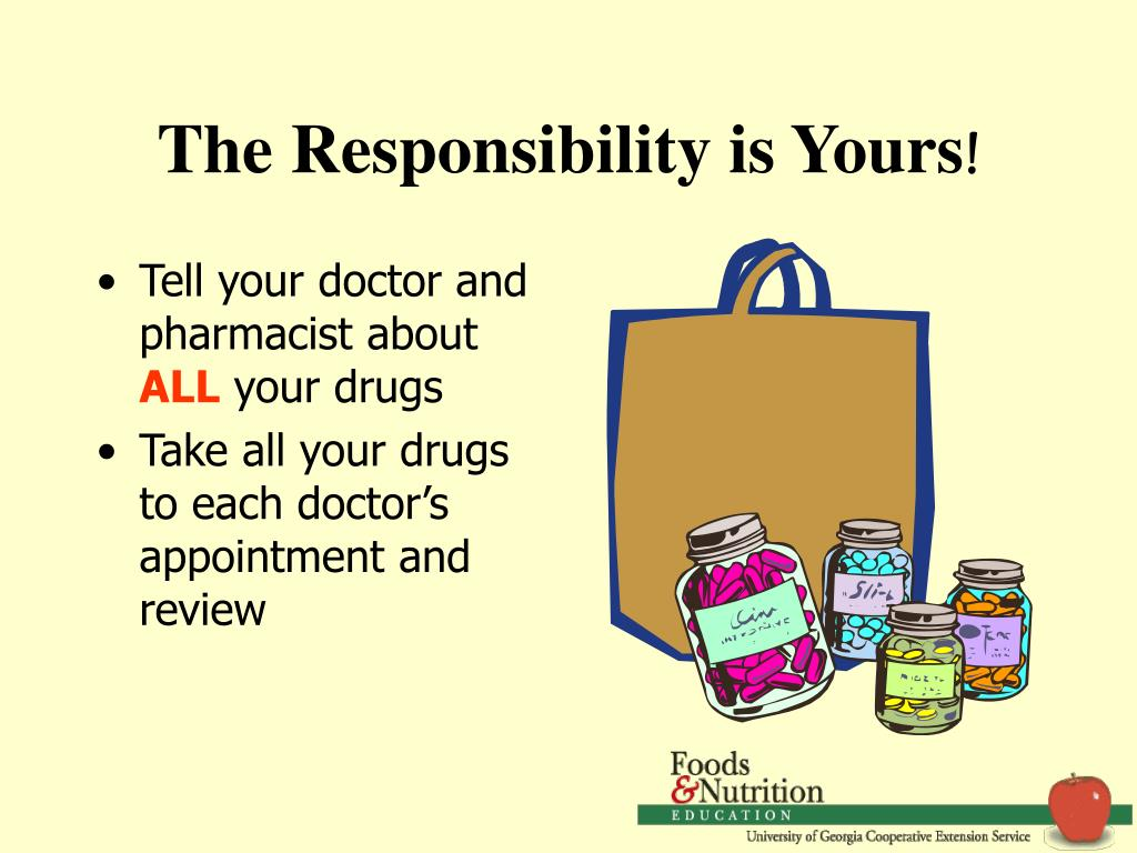 The Responsibility is Yours