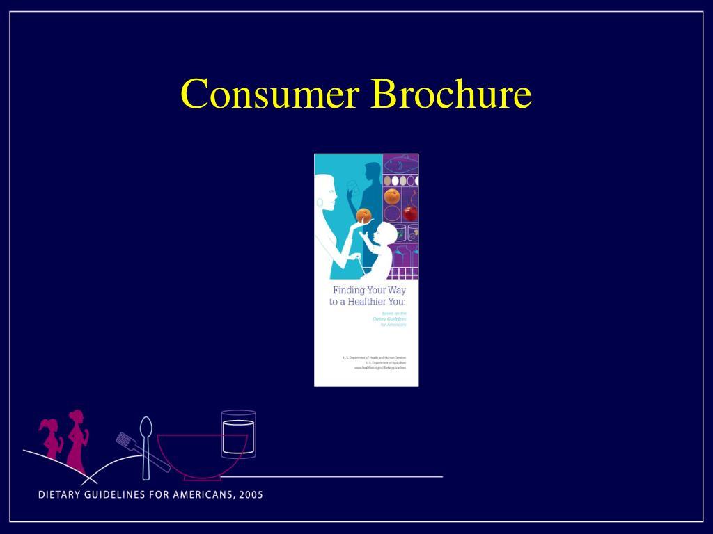 Consumer Brochure