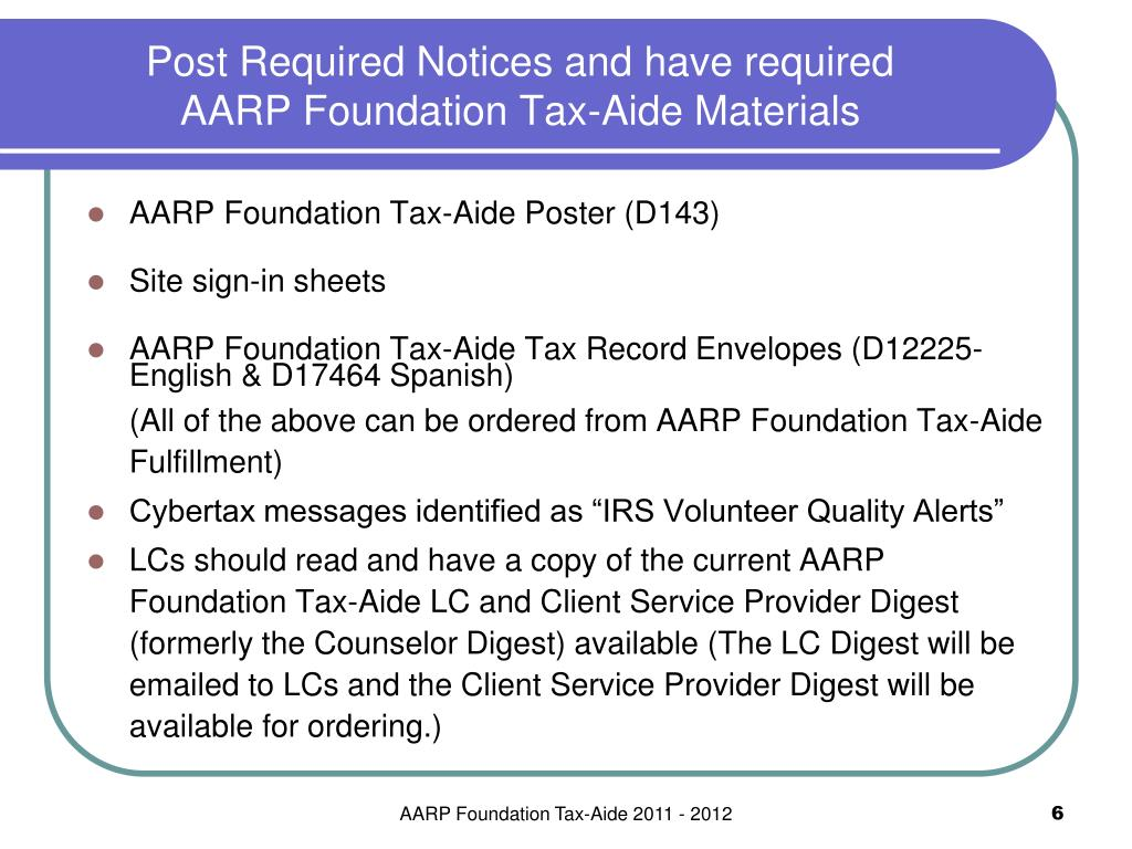 Post Required Notices and have required