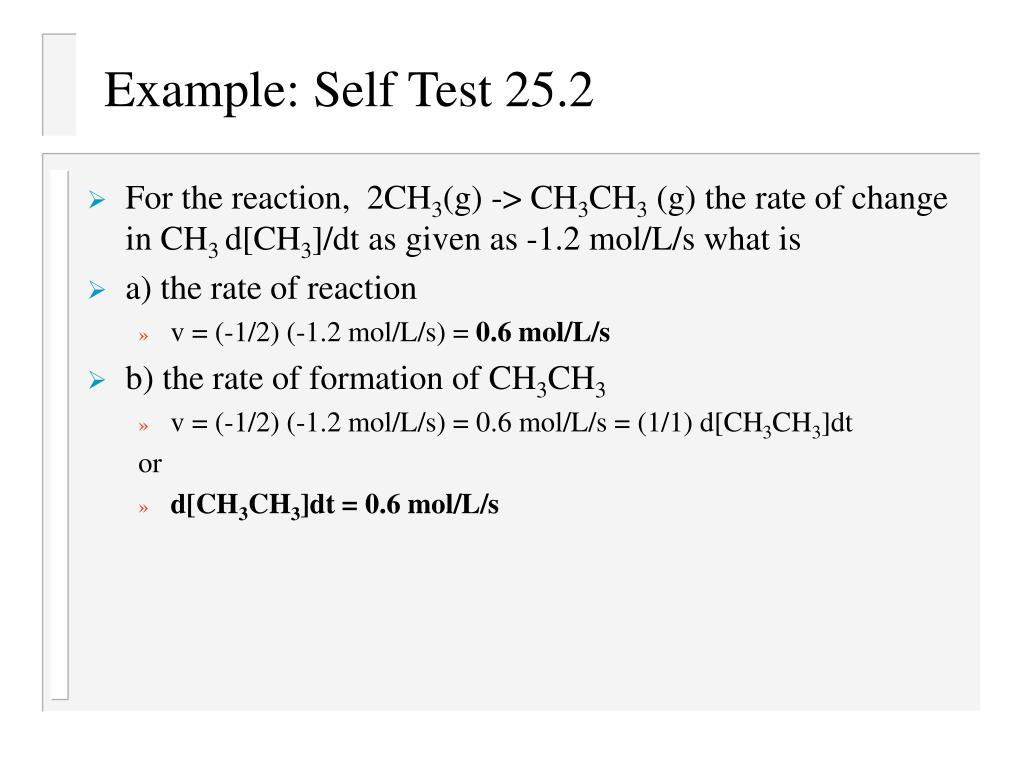 Example: Self Test 25.2