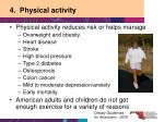 4 physical activity