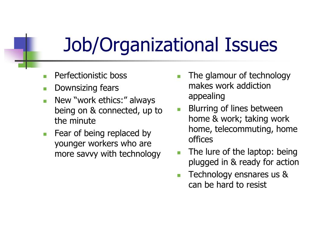 Perfectionistic boss