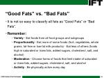 good fats vs bad fats32