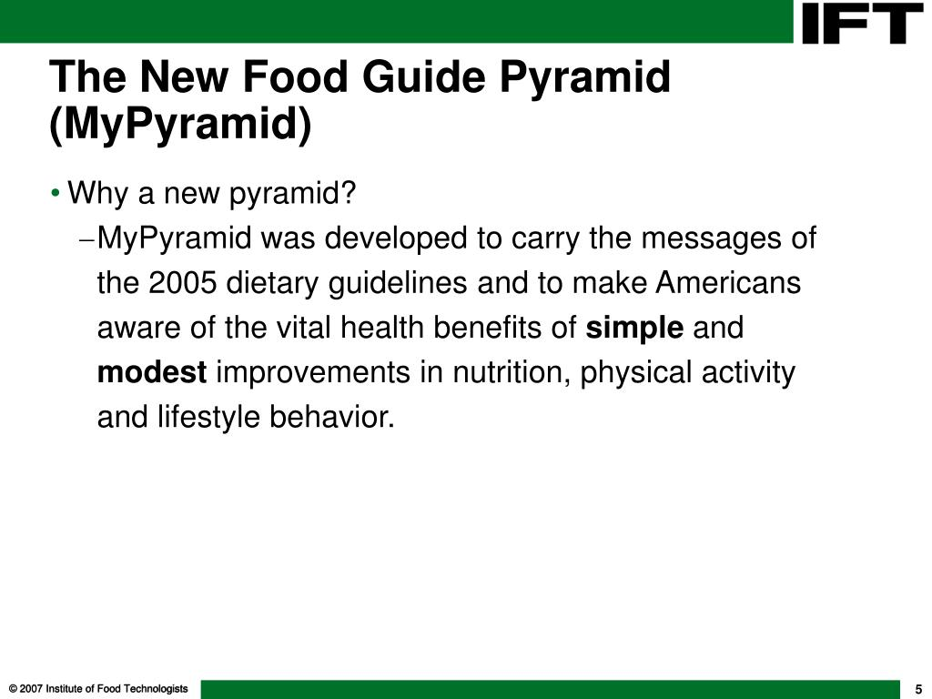 Why a new pyramid?