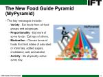 the new food guide pyramid mypyramid6