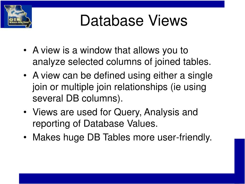 Database Views