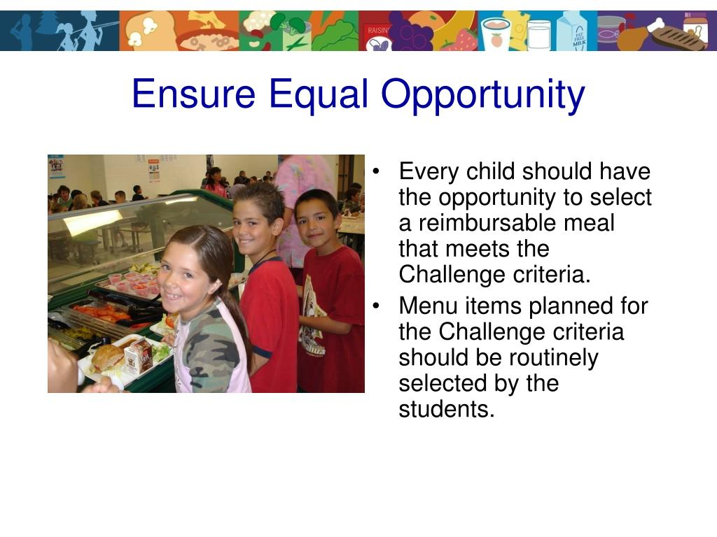 Ensure Equal Opportunity