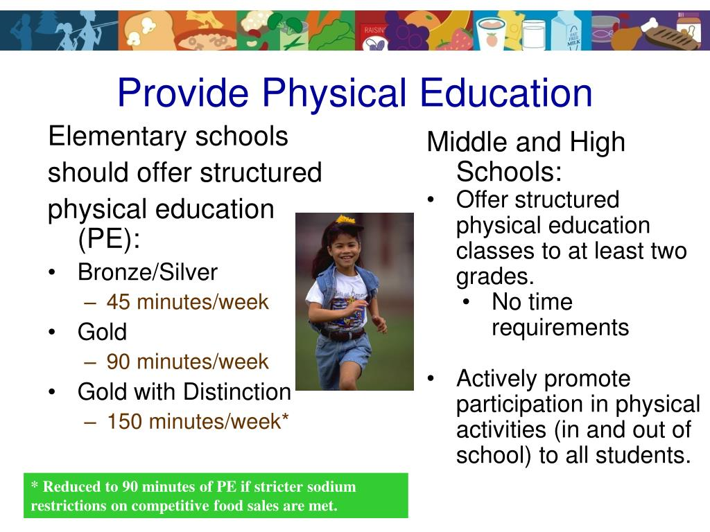 Provide Physical Education