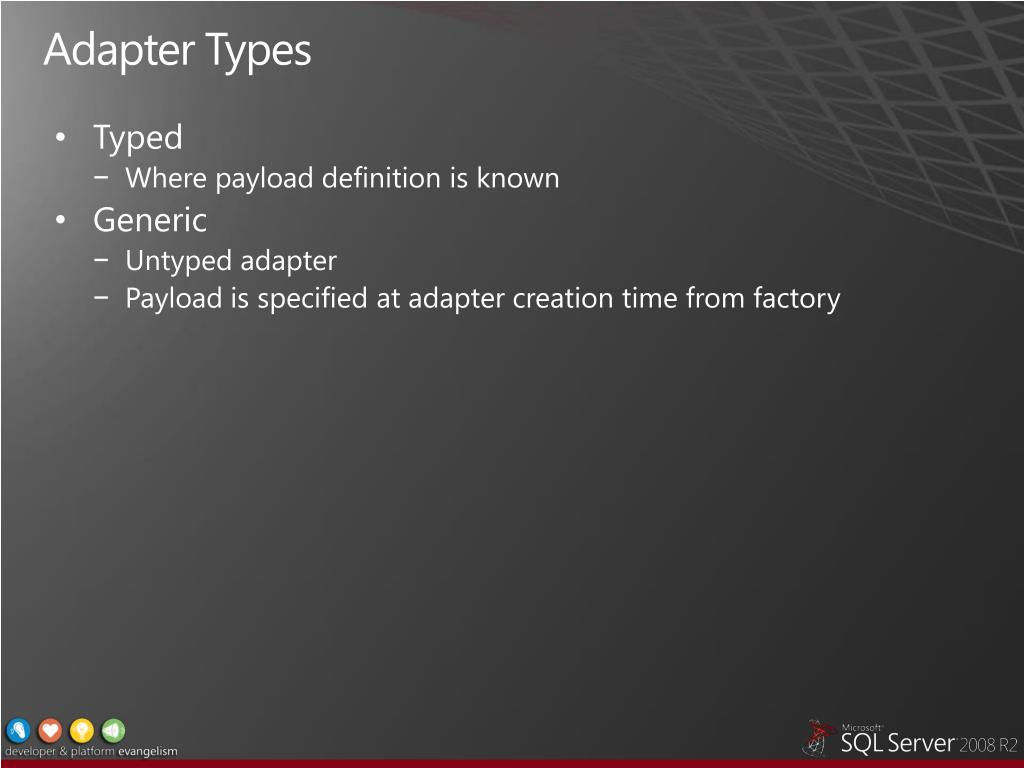 Adapter Types