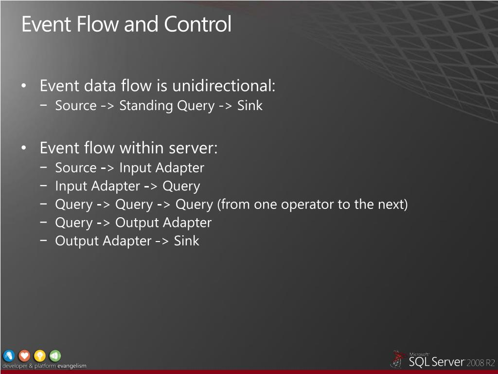 Event Flow and Control