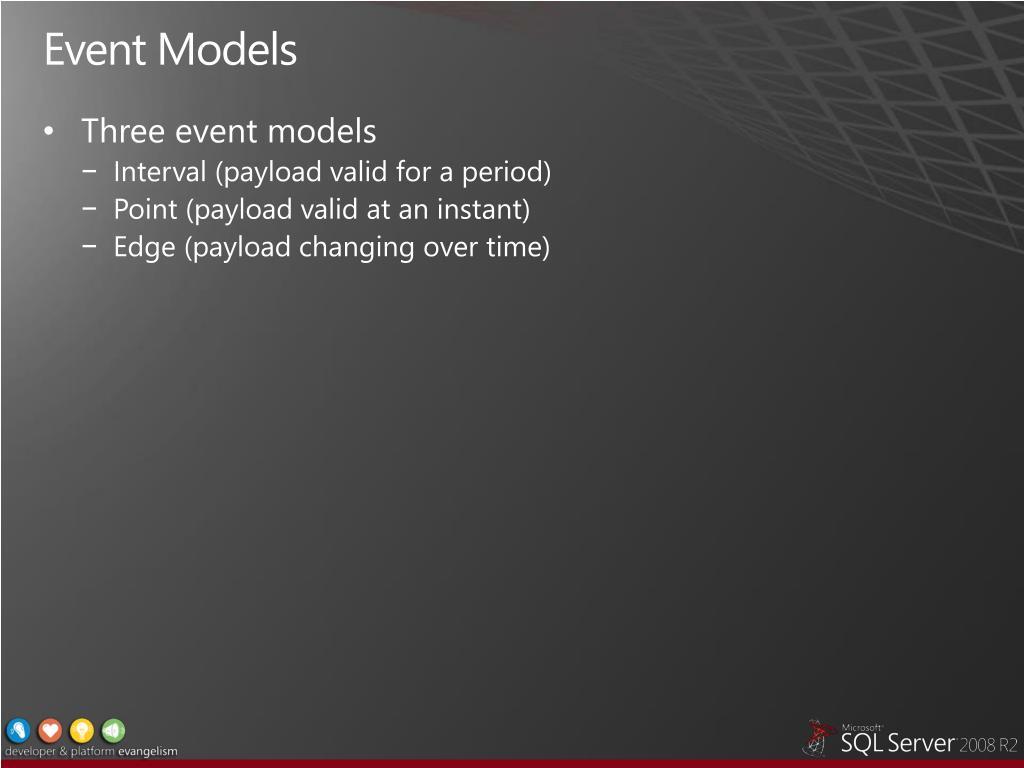 Event Models
