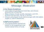 message moderation