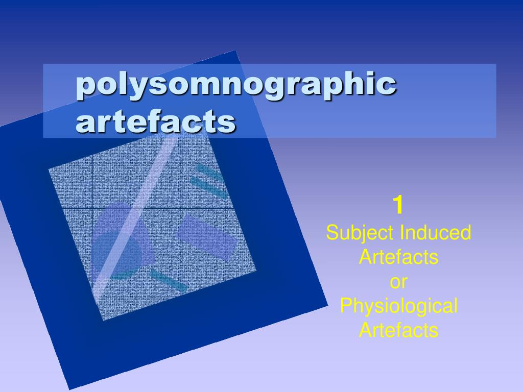 polysomnographic artefacts
