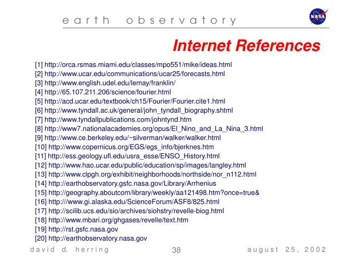 Internet References