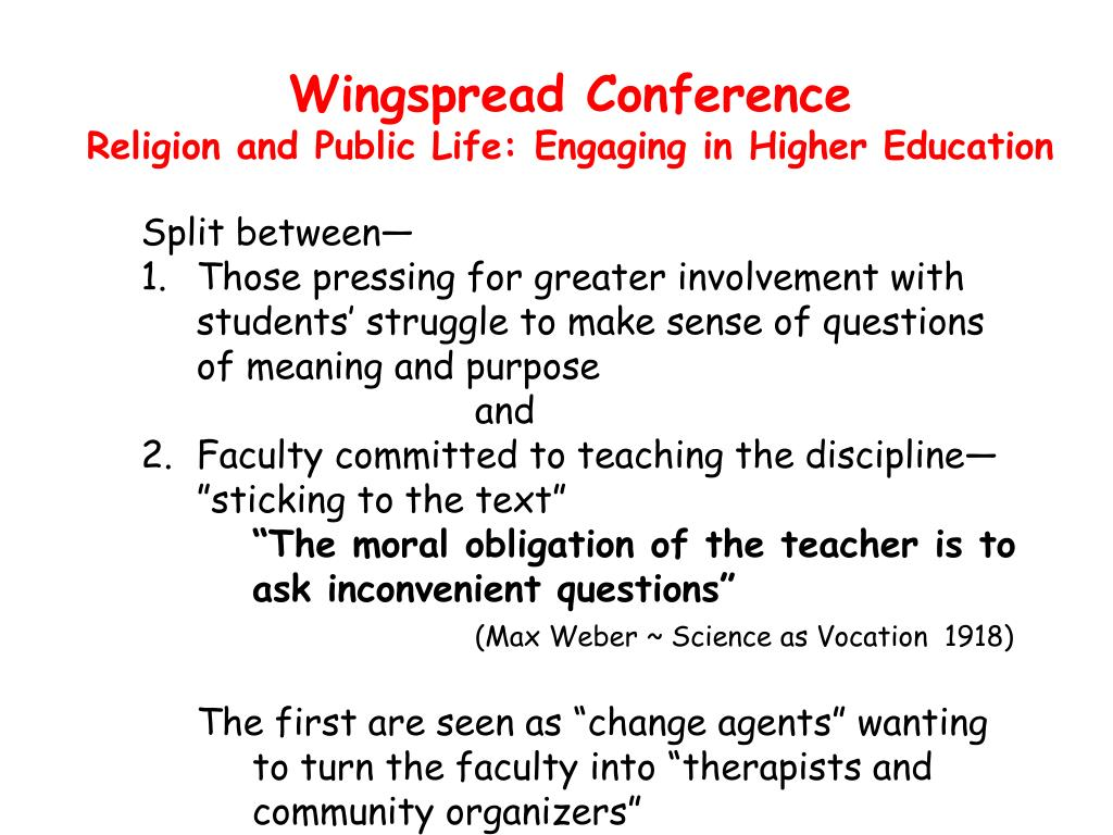 Wingspread Conference