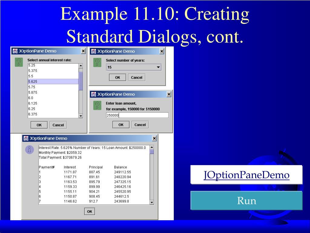 Example 11.10:
