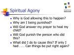 spiritual agony