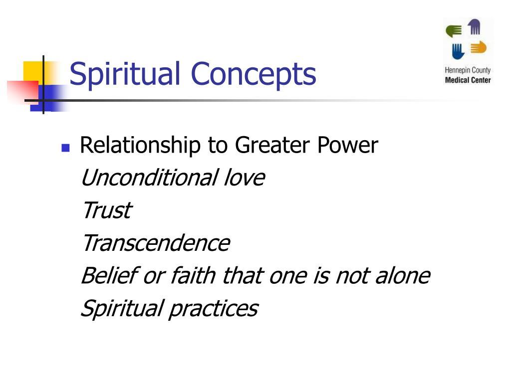 Spiritual Concepts