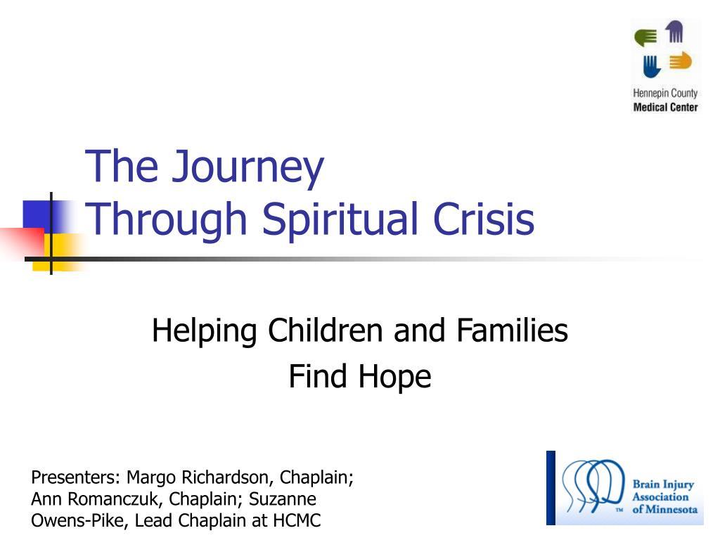the journey through spiritual crisis