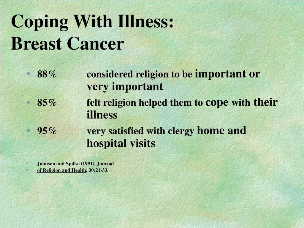 Coping With Illness: