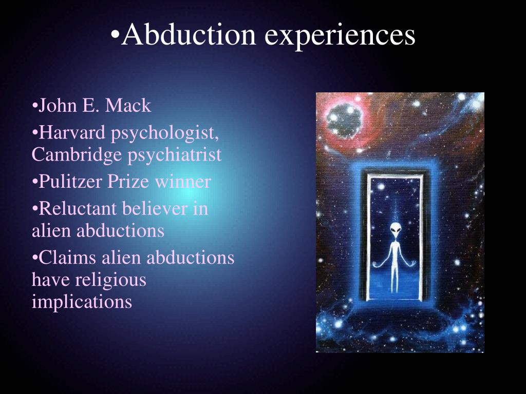 Abduction experiences
