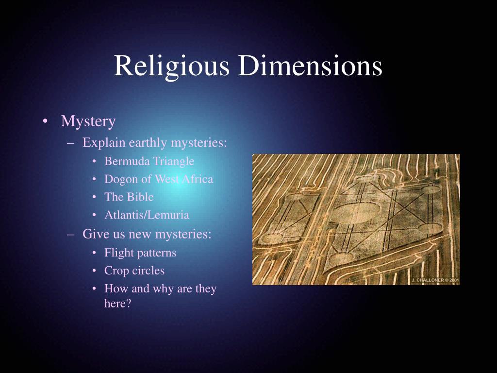 Religious Dimensions