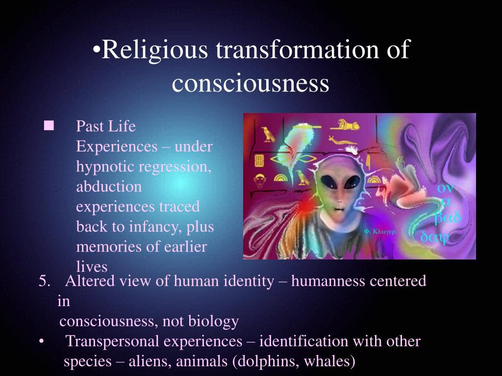 Religious transformation of consciousness