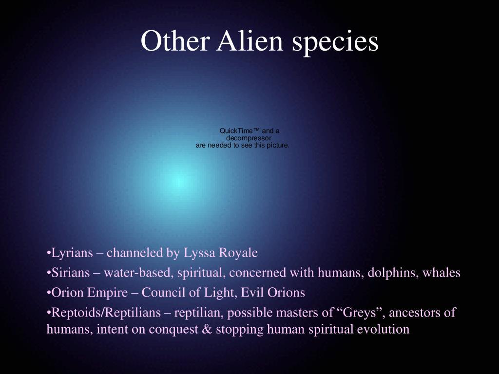 Other Alien species