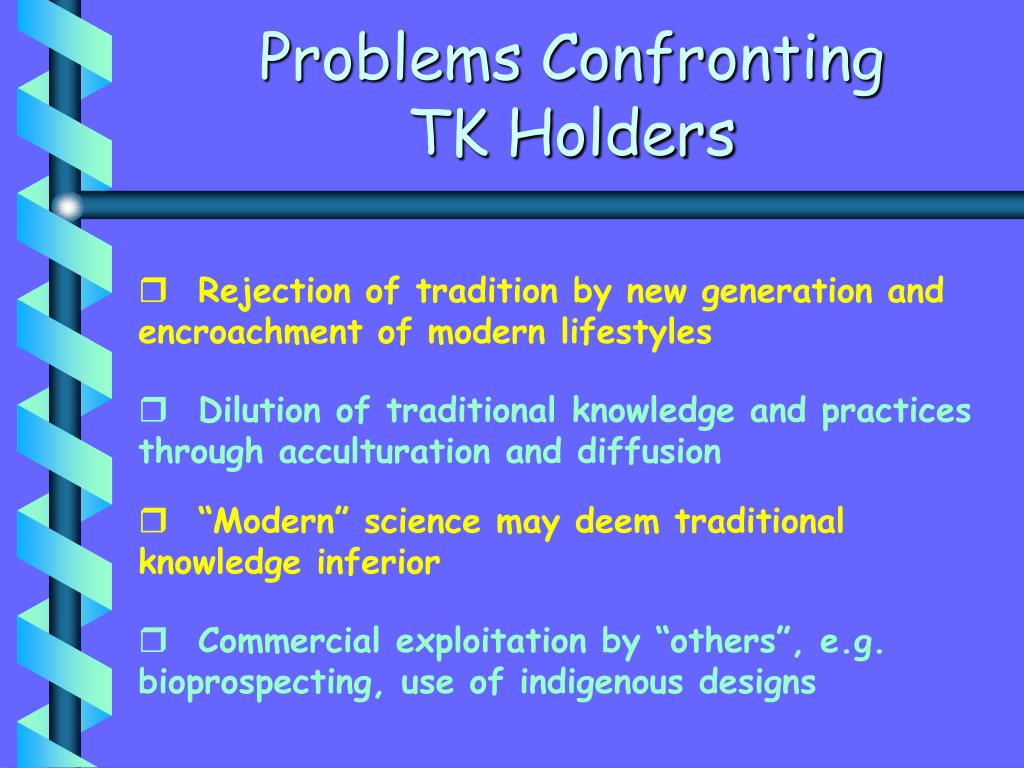 Problems Confronting