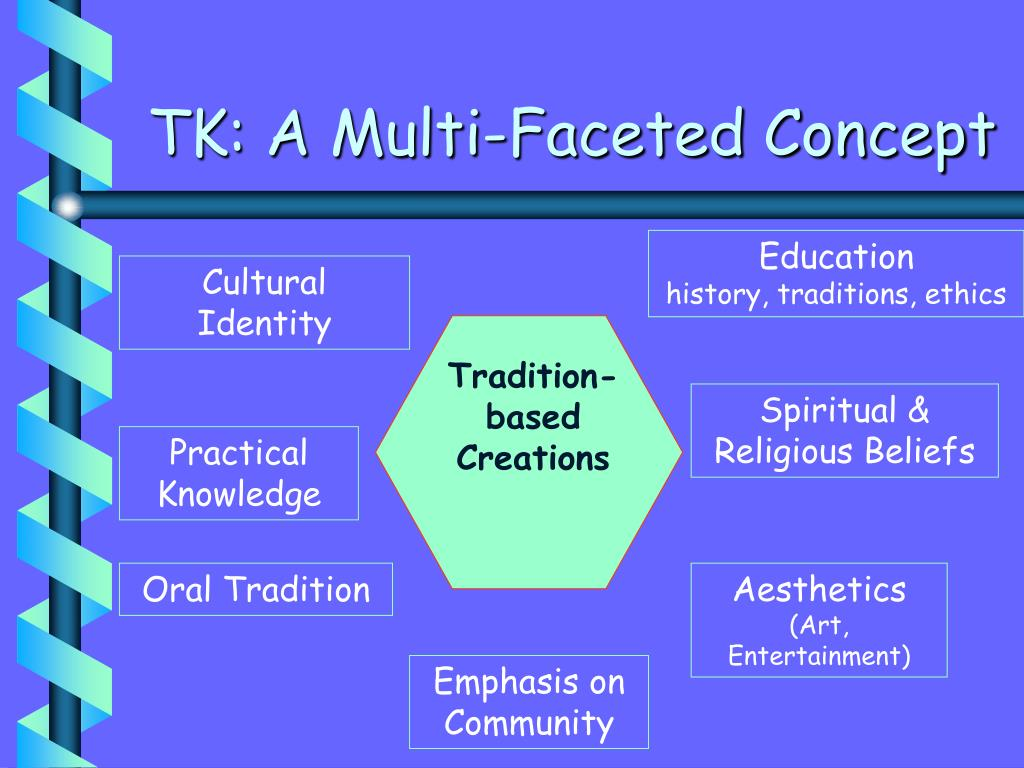 TK: A Multi-Faceted Concept