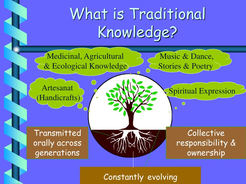 What is Traditional Knowledge?
