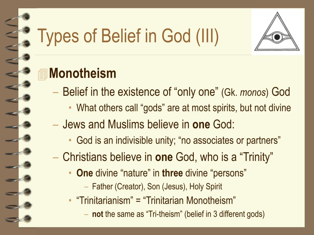 Types of Belief in God (III)