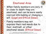 emotional area