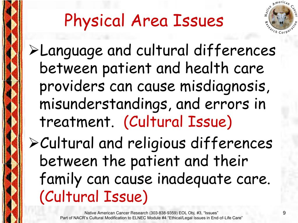 Language and cultural differences between patient and health care providers can cause misdiagnosis, misunderstandings, and errors in treatment.