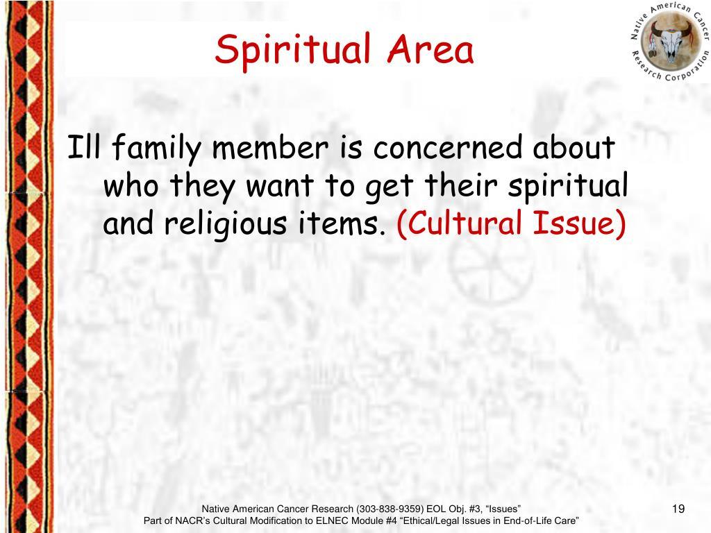 Spiritual Area