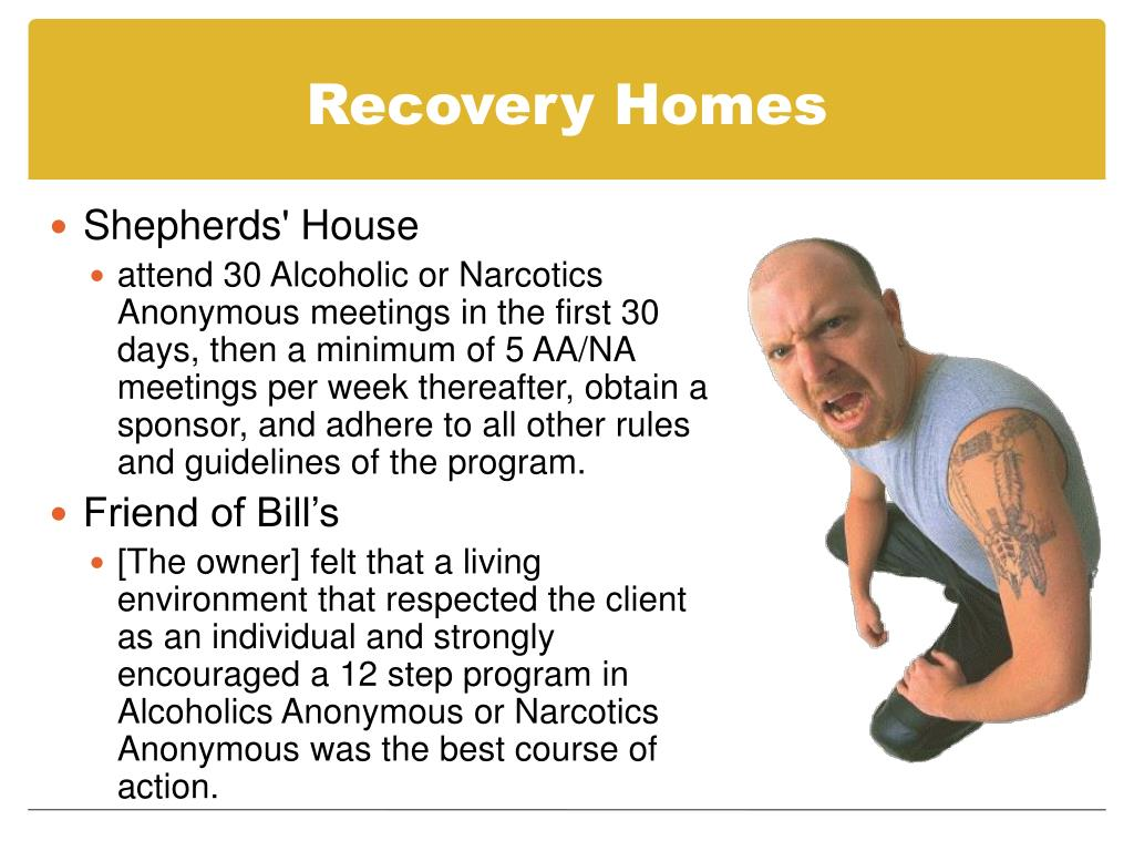 Recovery Homes