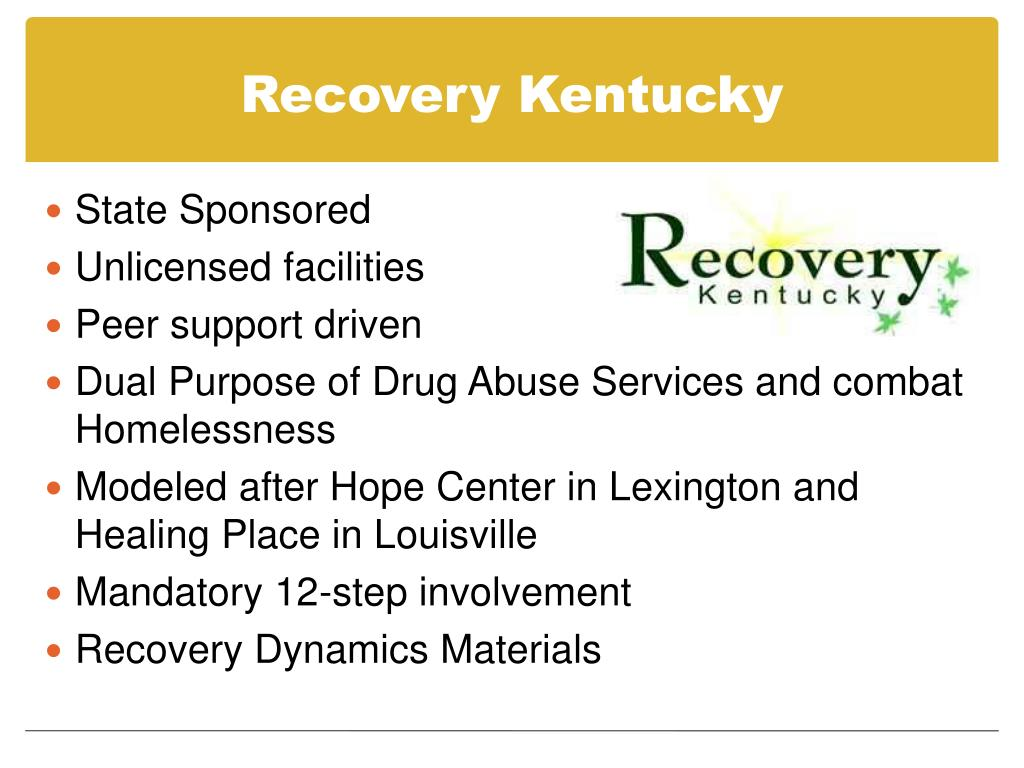 Recovery Kentucky