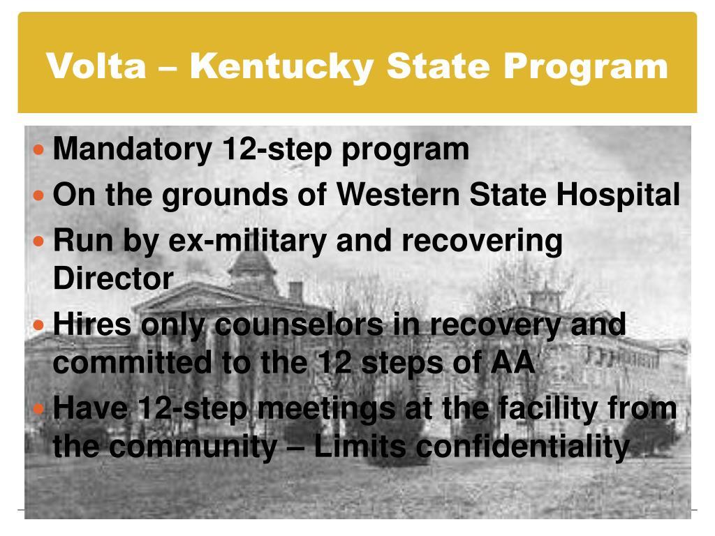 Volta – Kentucky State Program