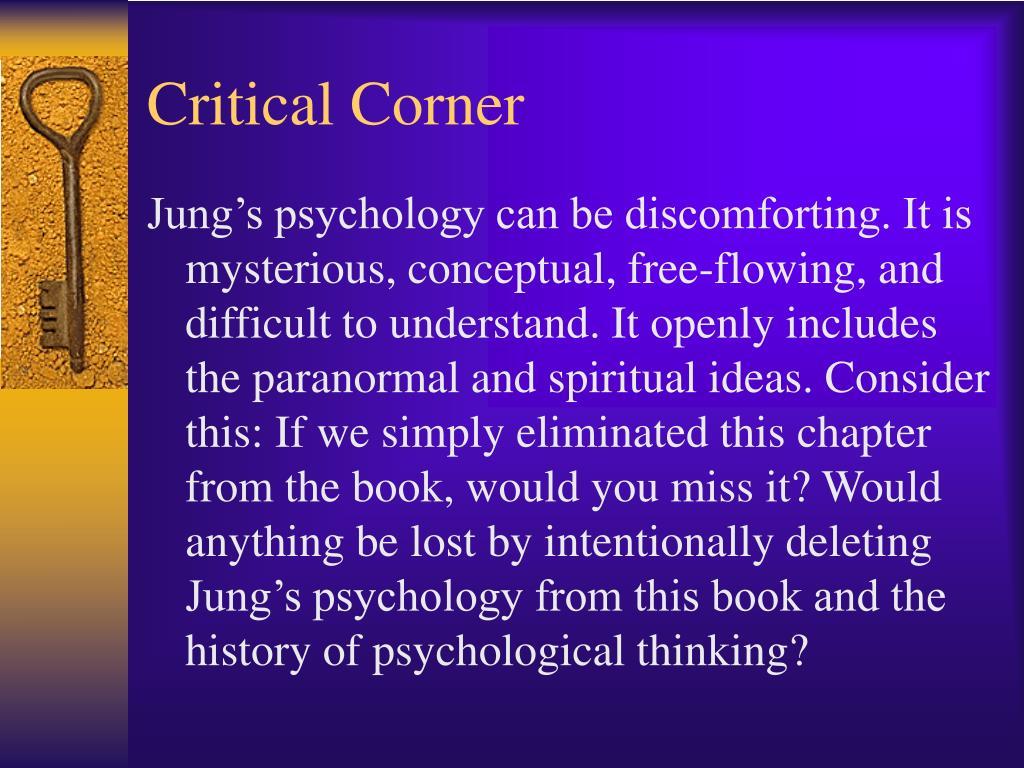 Critical Corner