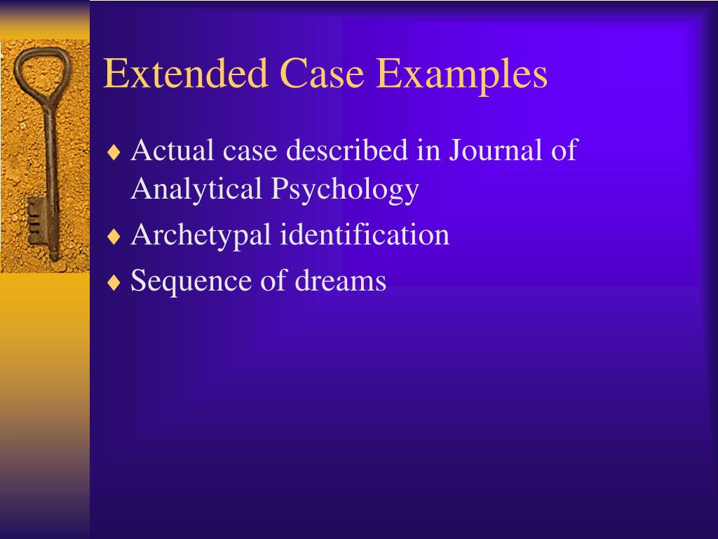 Extended Case Examples