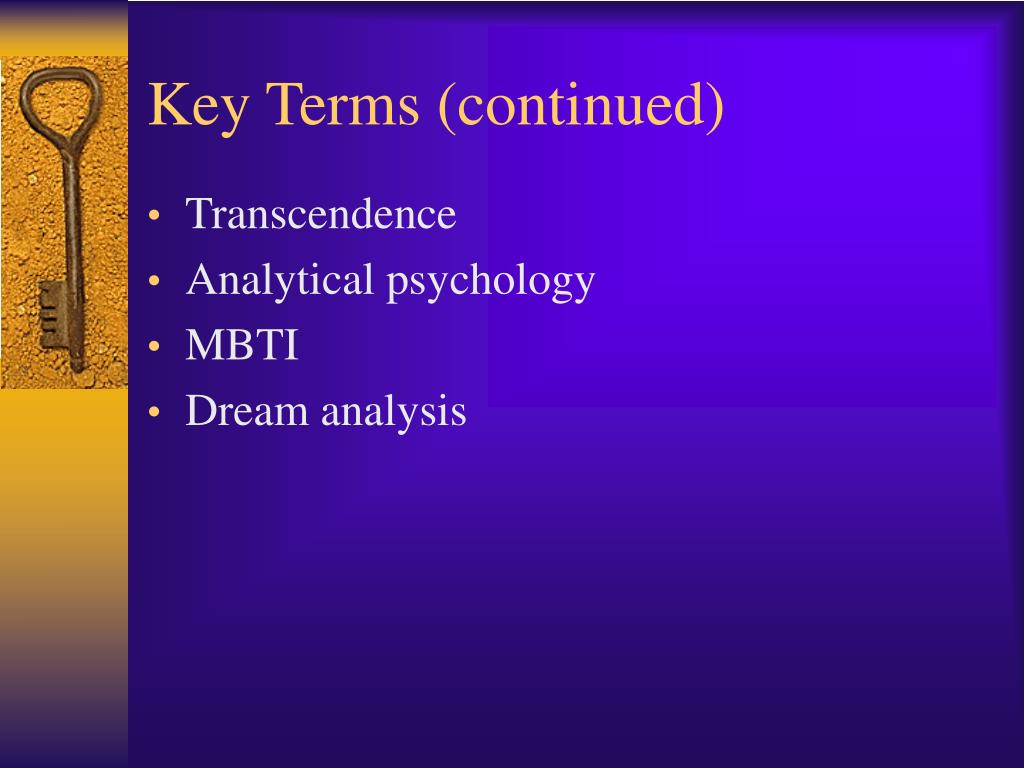 Key Terms (continued)