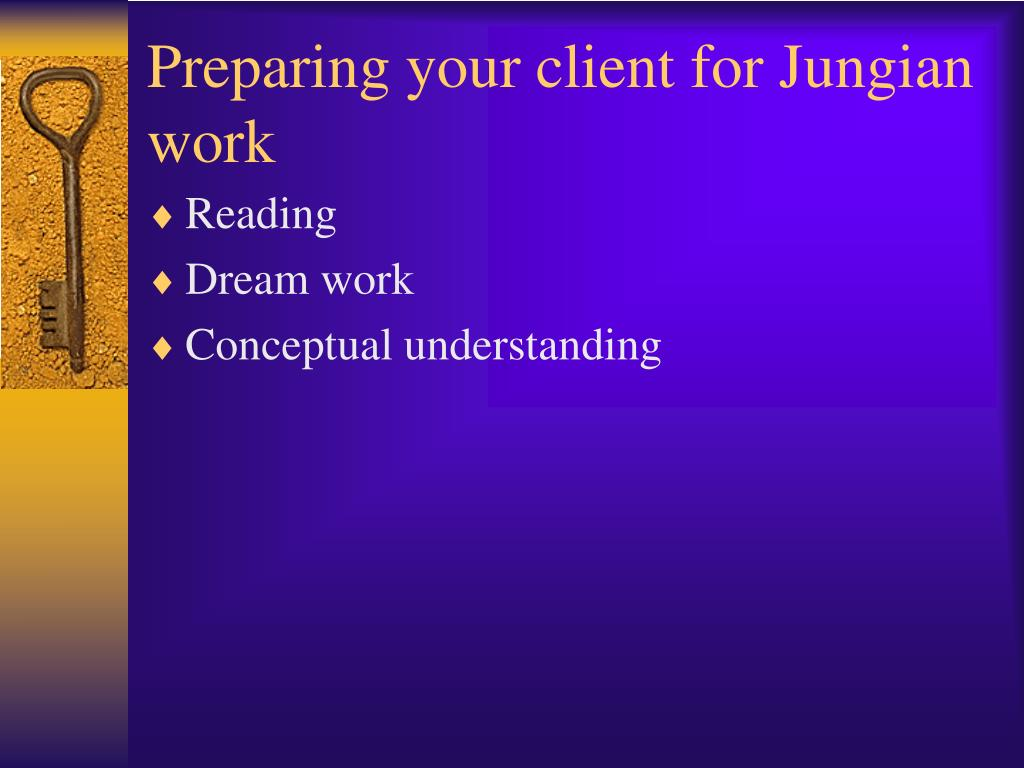 Preparing your client for Jungian work