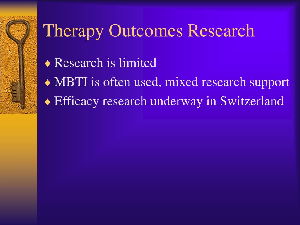 Therapy Outcomes Research