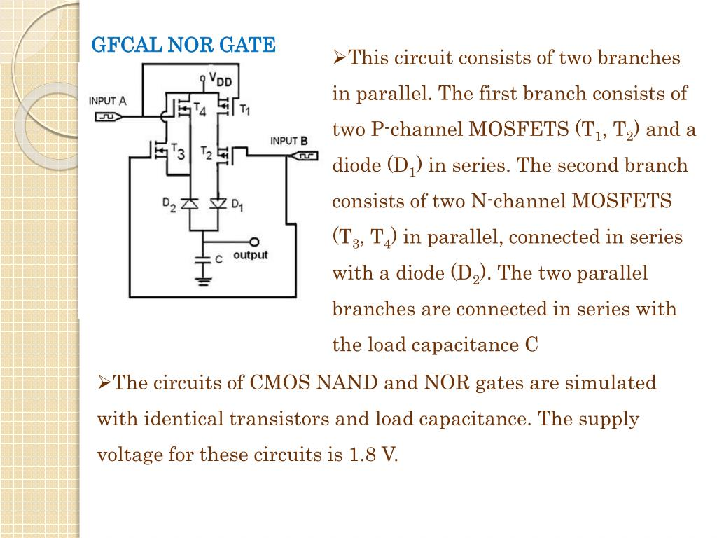 GFCAL NOR GATE