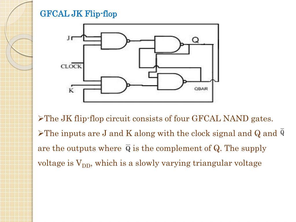 GFCAL JK Flip-flop