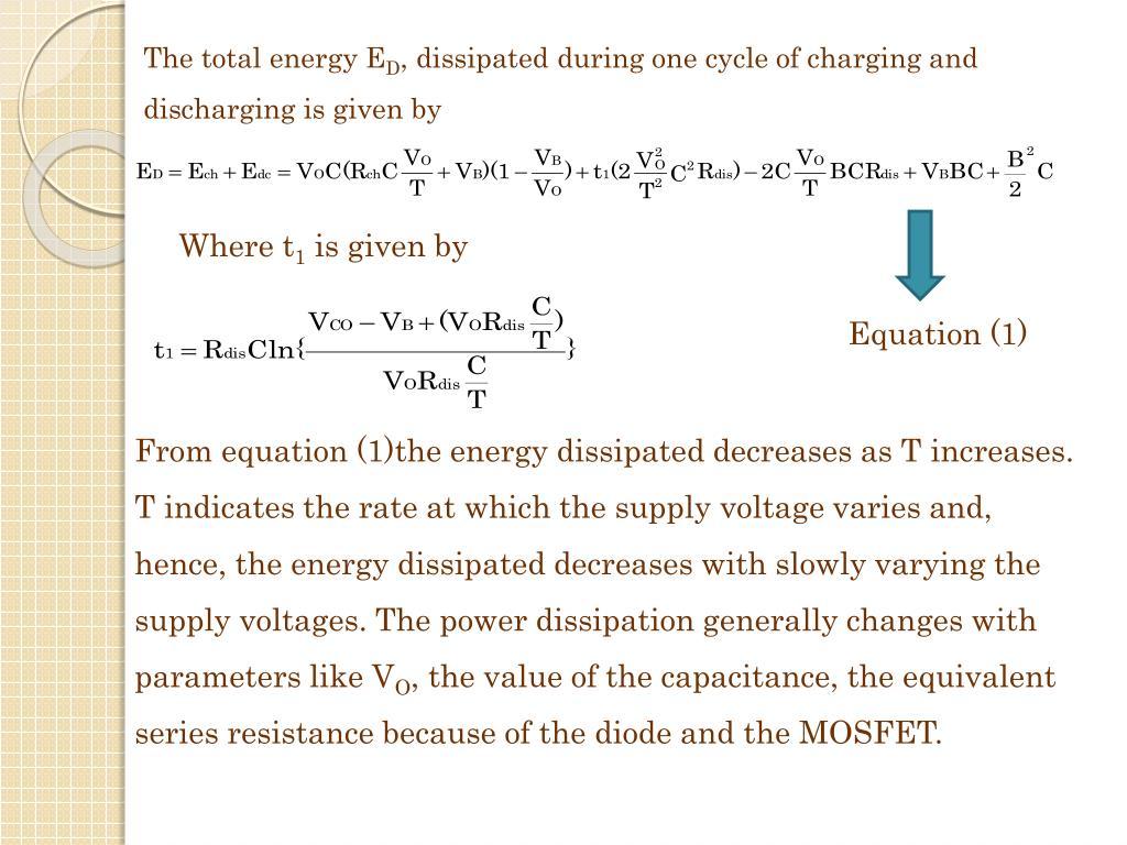 The total energy E