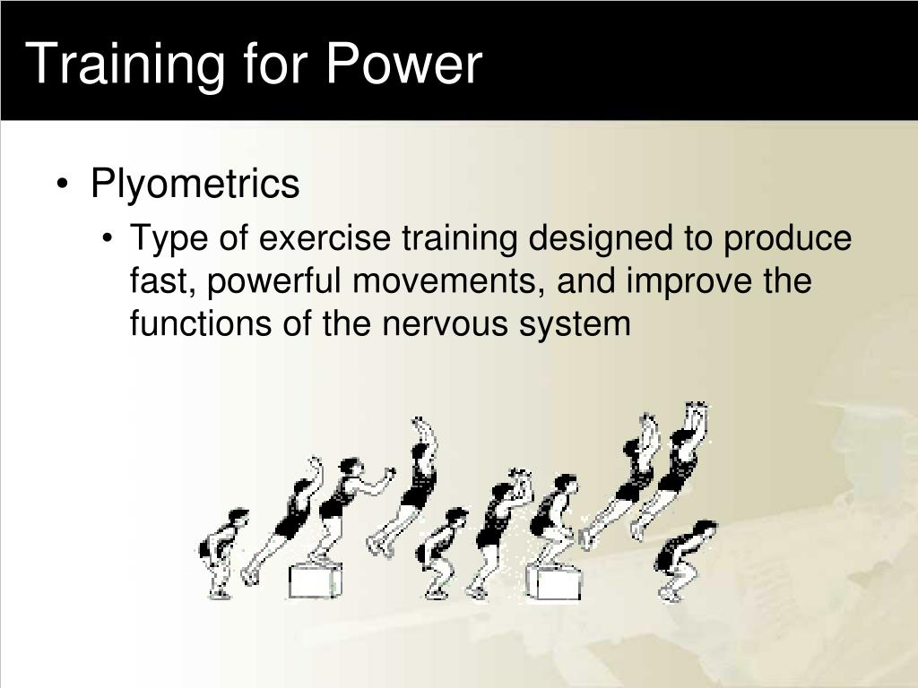Training for Power